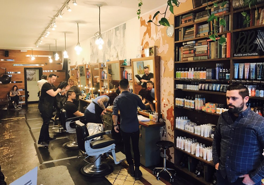 Public Barber Salon: 571 Geary St, San Francisco, CA