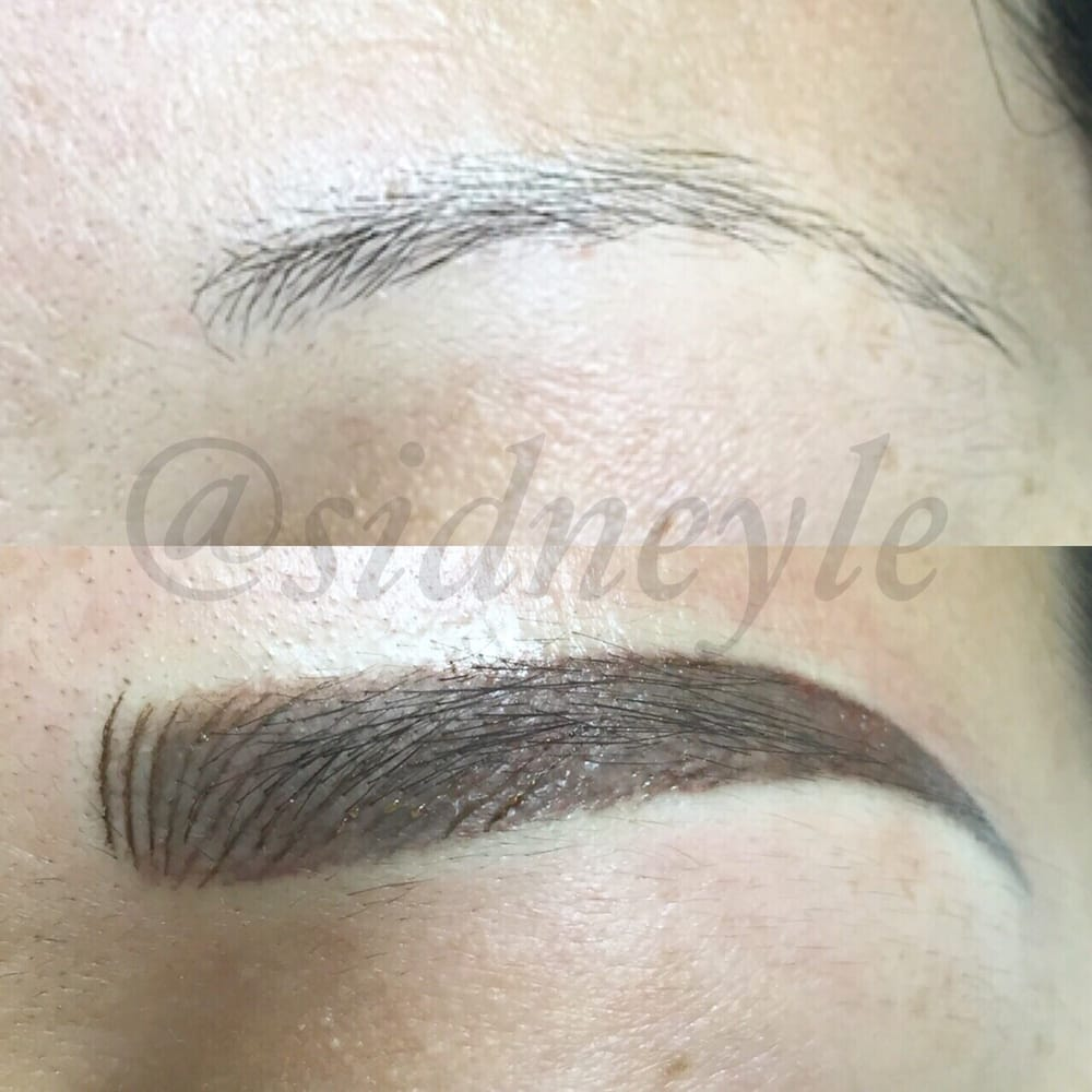 6d microblading and powder tattoo brows by Sidney - Yelp