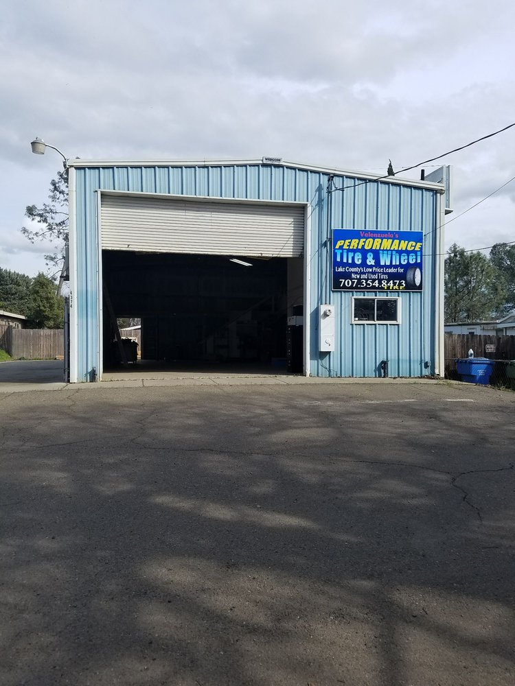 Valenzuela's Performance Tires and Wheels: 4374 Old Hwy 53, Clearlake, CA