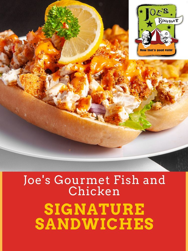 Joe's Gourmet Fish and Chicken: 1100 Thornton Rd, Lithia Springs, GA