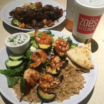 Zoes Kitchen Salmon Kabob zoes kitchen - 50 photos & 59 reviews - mediterranean - irving, tx