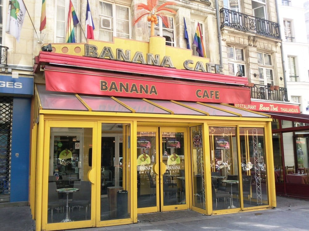 Banana Caf Ef Bf Bd Paris France