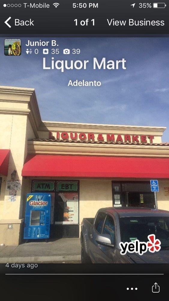Liquor Mart: 11965 Cactus Rd, Adelanto, CA