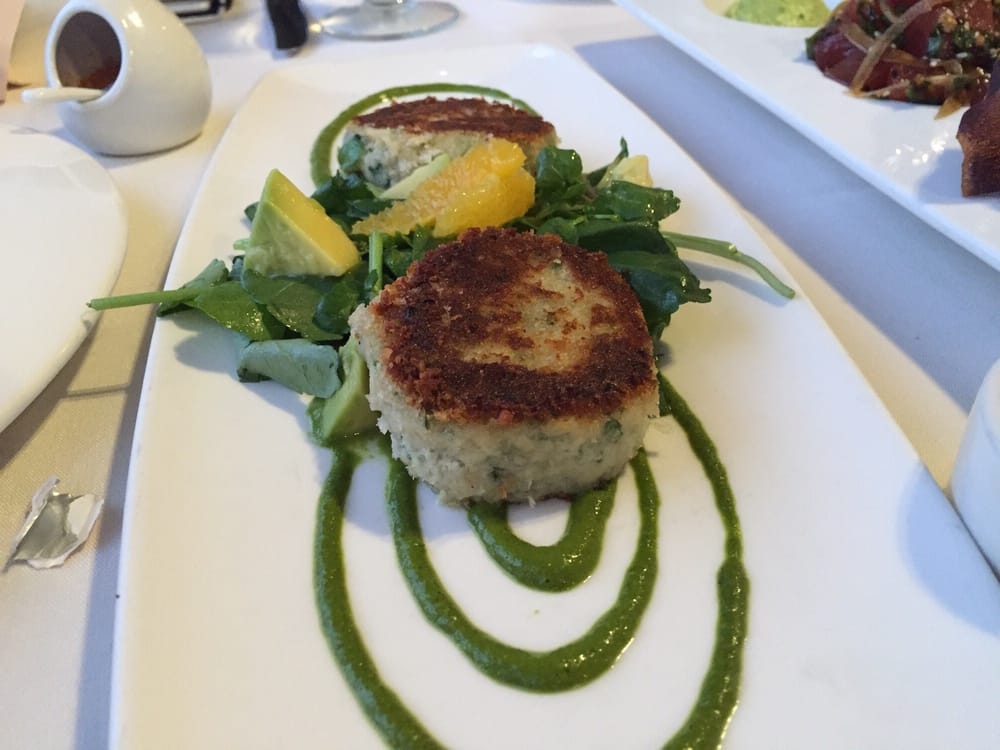 Lobster crab cake yelp for Merriman s fish house