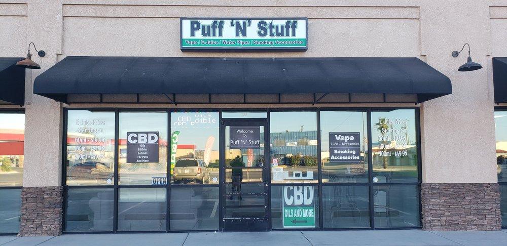 Puff 'N' Stuff Parker: 820 S California Ave, Parker, AZ
