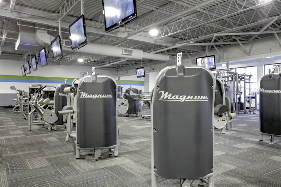Tons Of Brand Name And Clean Strength Machines Yelp
