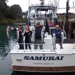 Hooked on mendo charters pesca 32390 n harbor dr fort for Fort bragg fishing charters