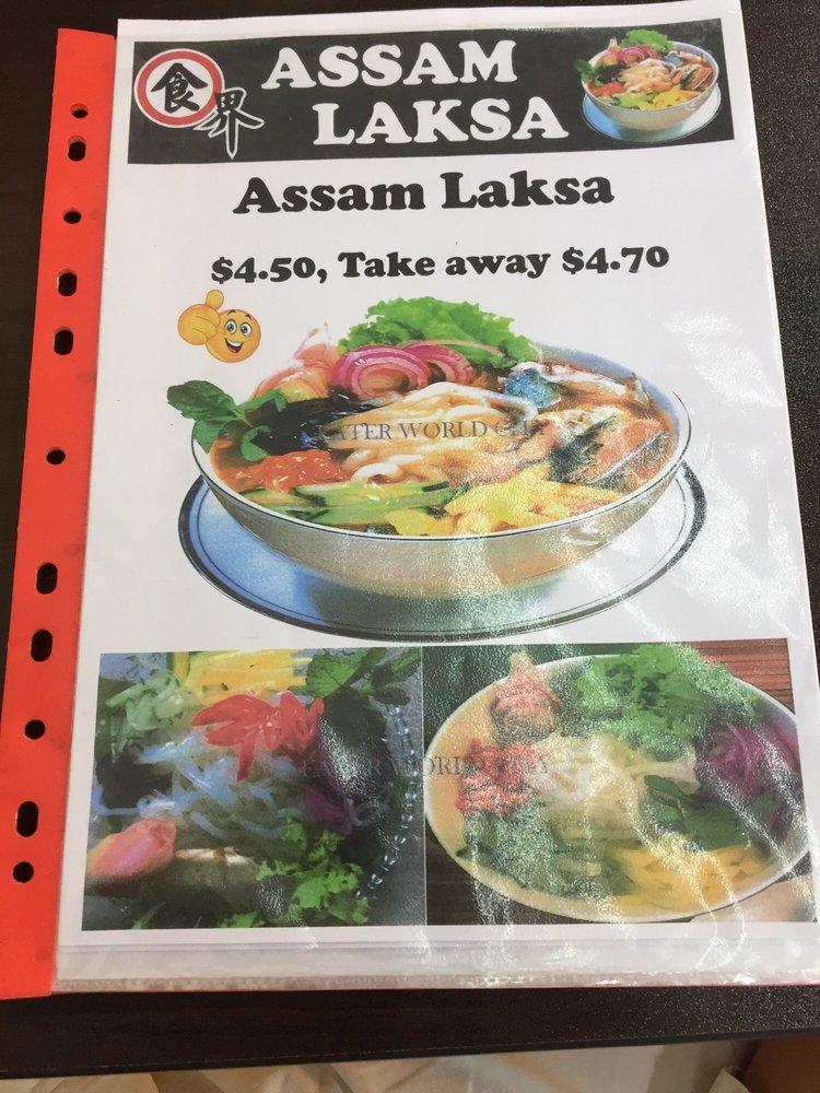 Assam Laksa Singapore
