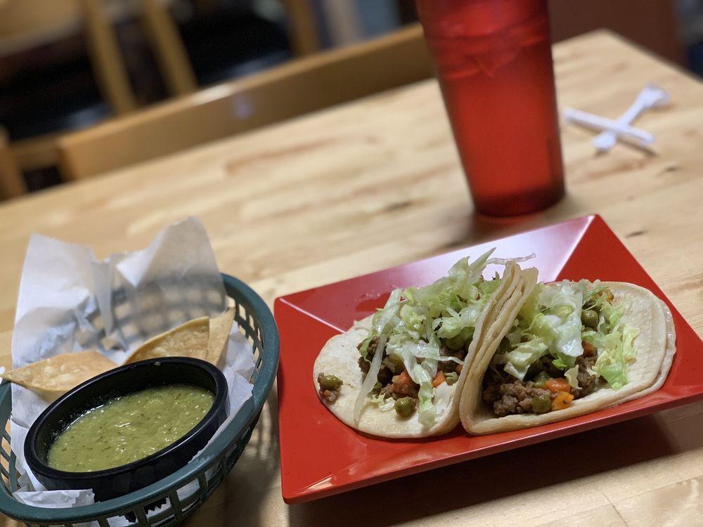 Food from El Burrito