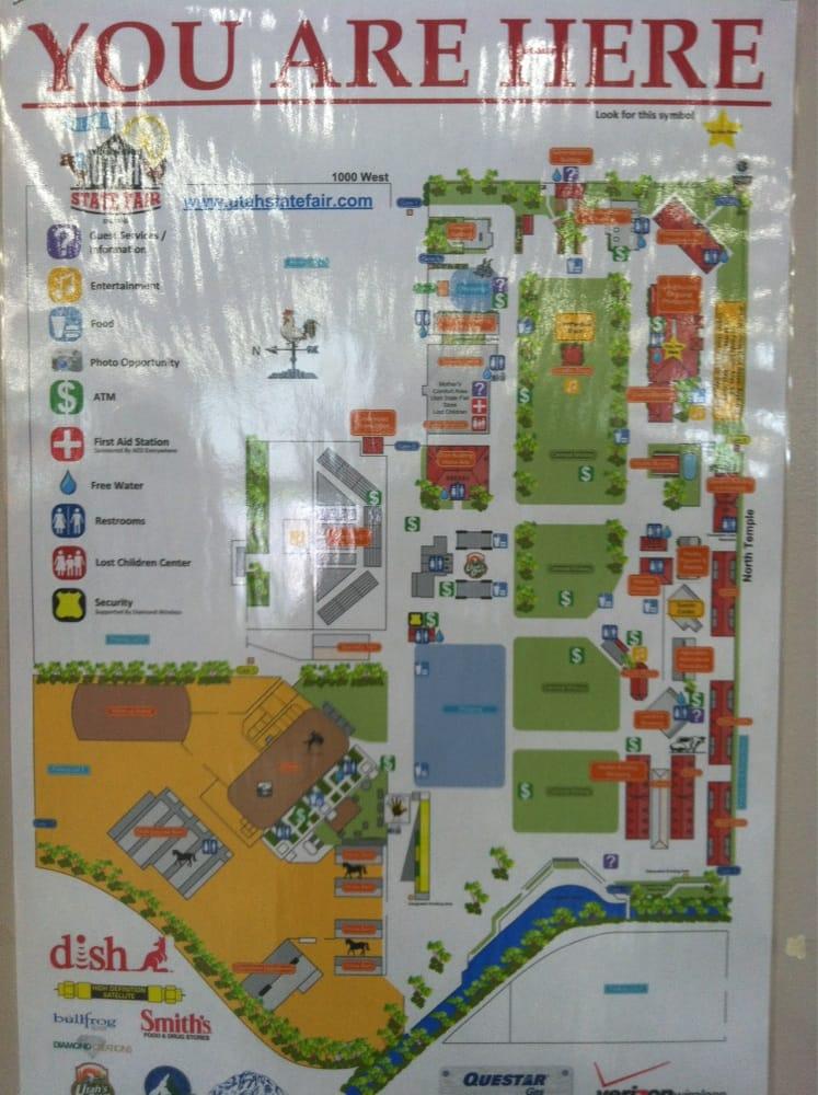 Florida State Fairgrounds Map.Fair Map Yelp
