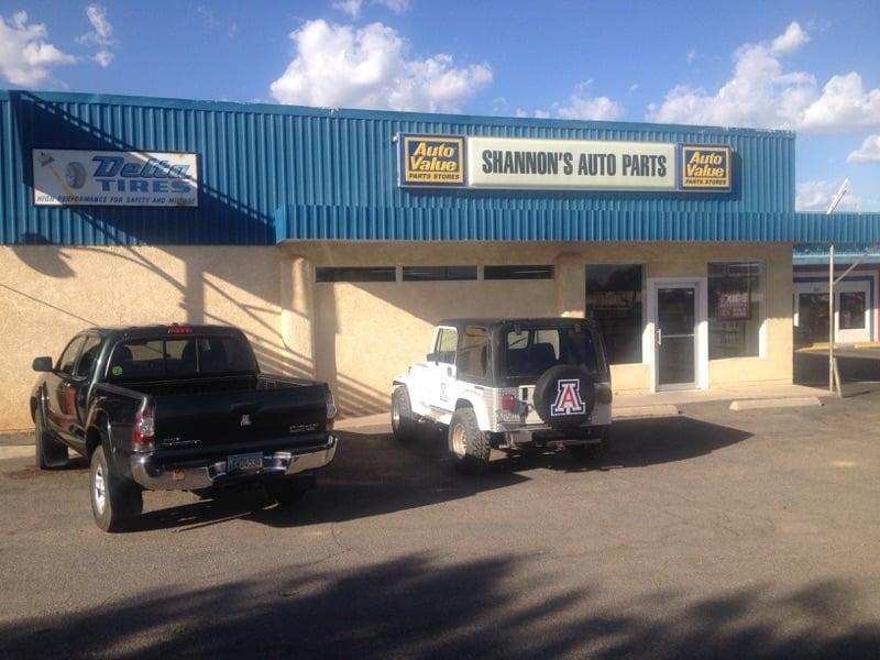 Shannon's Auto Parts: 685 E 4th St, Benson, AZ