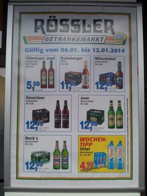 Getränkemarkt Rössler - Getränkemarkt - Ernst-Thälmann-Str. 13 ...