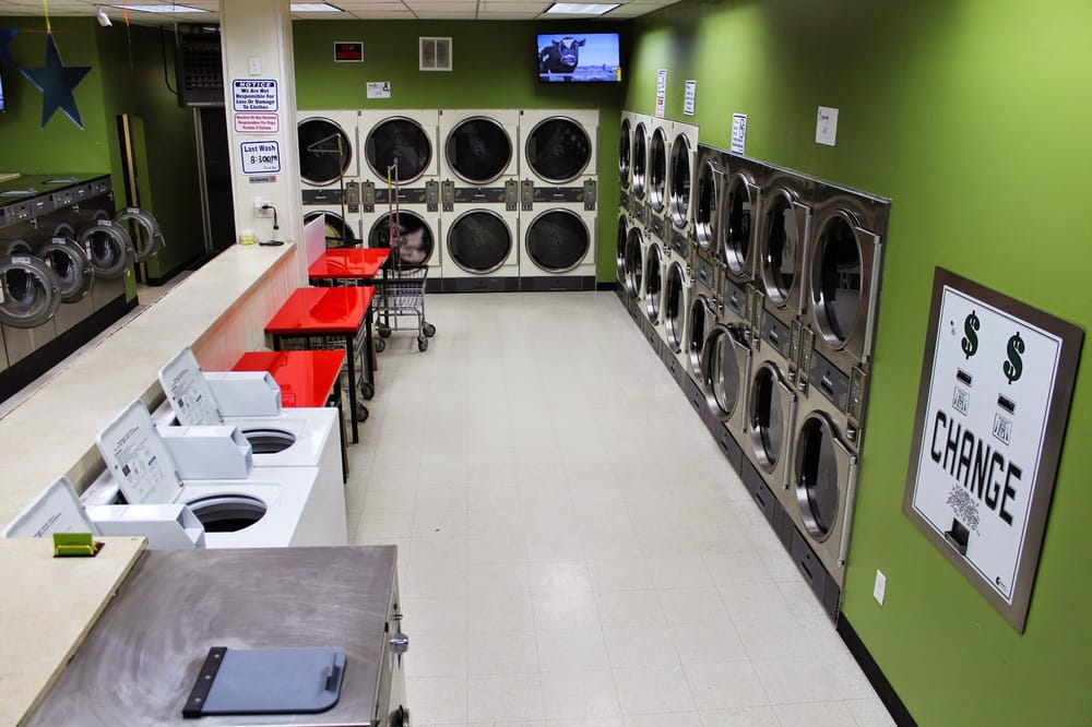 Joe Laundromat: 1218 St Georges Ave, Avenel, NJ
