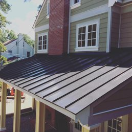 Photo Of Prime Roofing   Richmond, VA, United States. Huge Metal Porch,