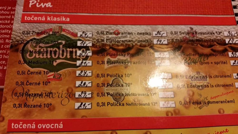 Restaurace Rubín: Lipská 2443/5, Brno, JM