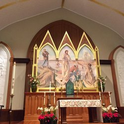 P O Of St Peters Catholic Church Charlotte Nc United States Alter