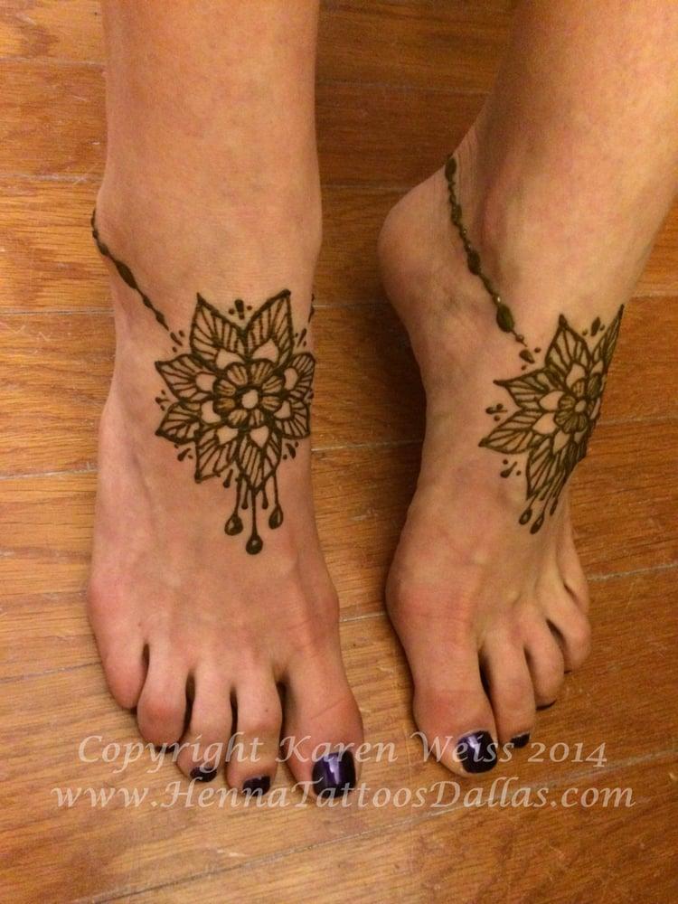 Foot Henna Tattoo Prices: Pretty Henna Feet