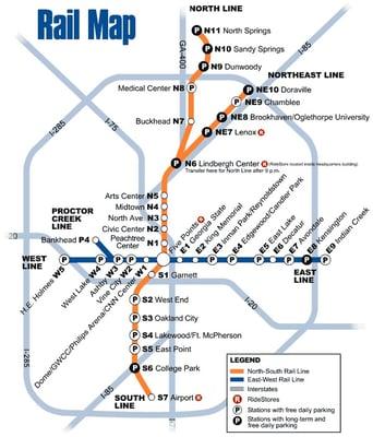 MARTA Hamilton E Holmes Station 70 Hamilton E Holmes Dr NW Atlanta