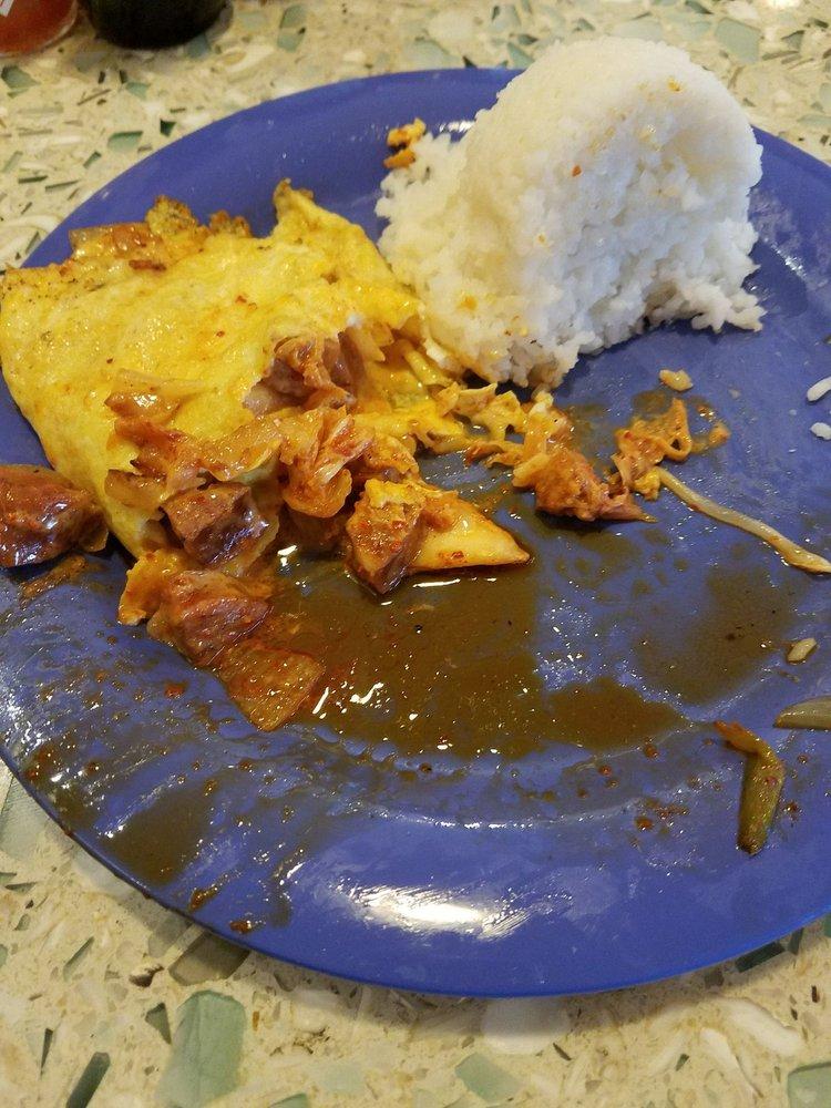 Inside of the Polynesian omelette - Yelp