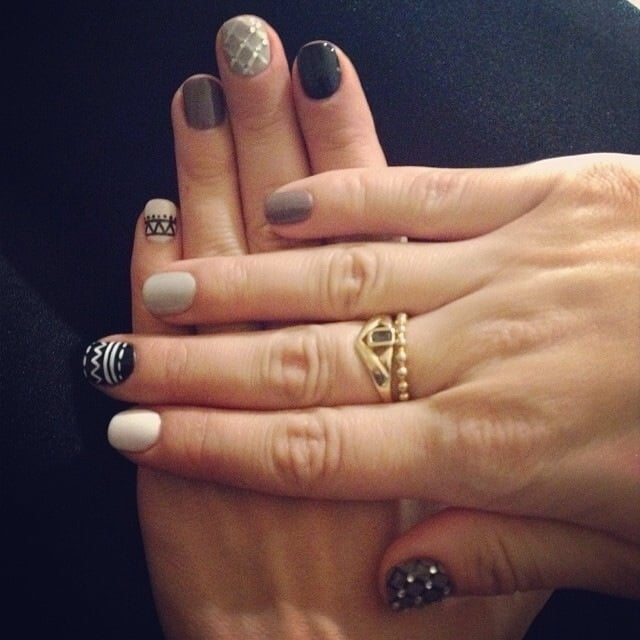 Nails by julie gel manicure with designs yelp for 33 fingers salon reviews