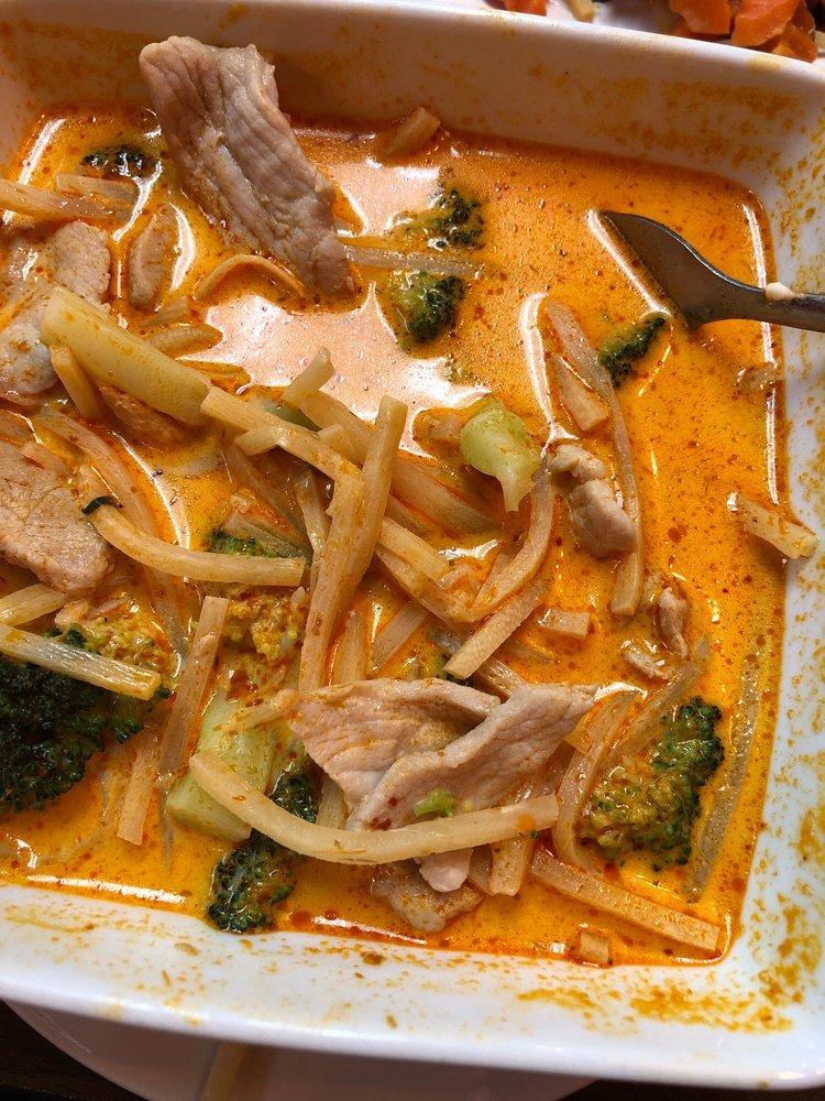 Food from Rassame's Thai Cuisine