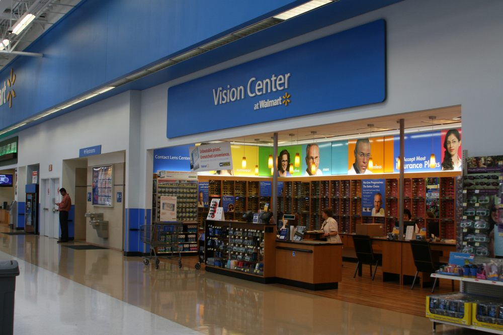 walmart vision center - optometrists