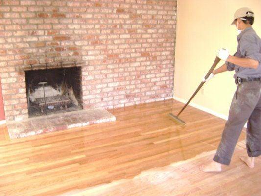 Coating The Floor With Water Based Polyurethane Finish