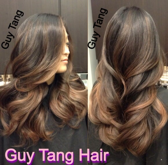 Natural Ombre On Dark Hair By Guy Tang Yelp