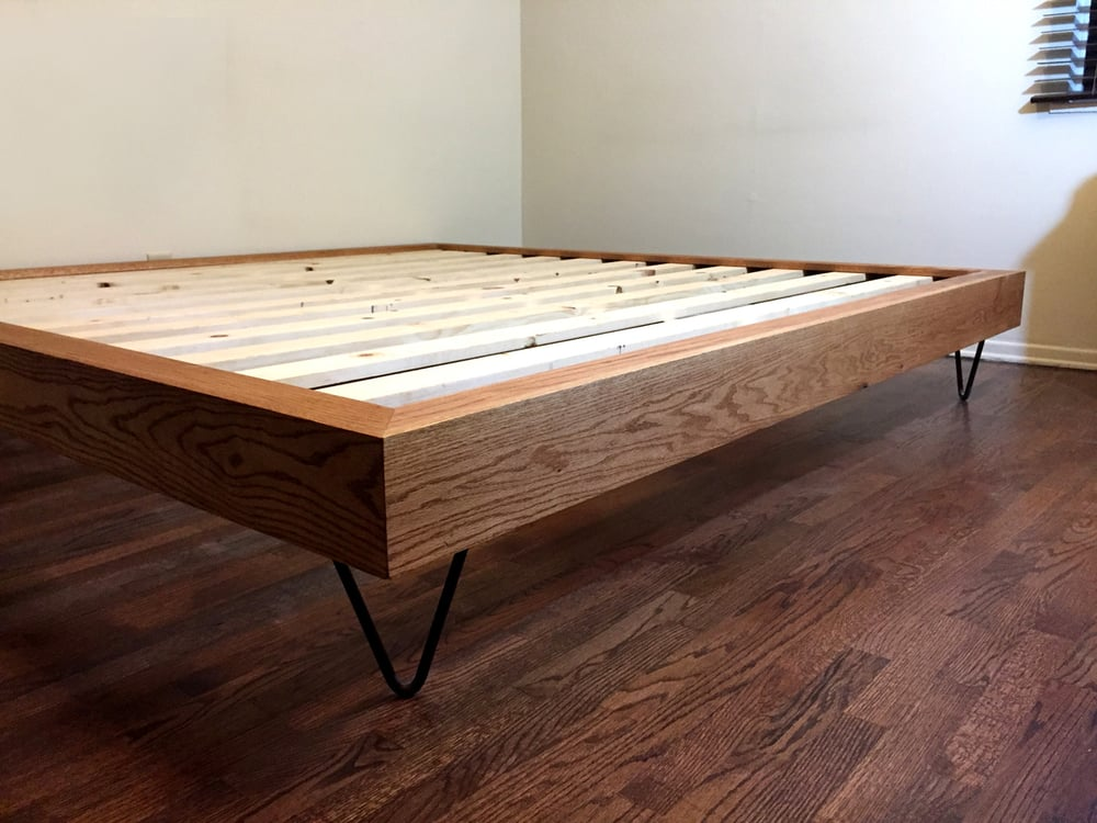 Custom hairpin legs for king-size bed frame - Yelp