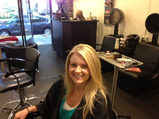 Perfectly blonde highlights by teddy yelp for 188 salon pasadena