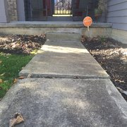 Sump Pump Installations Photo Of B Level Baltimore Oh United States Uneven Sidewalks Can
