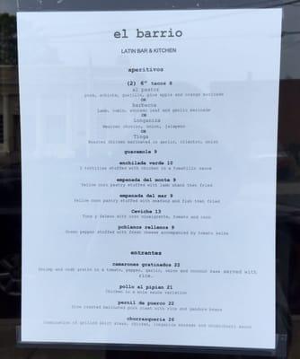 L Barrio Latin Bar Kitchen