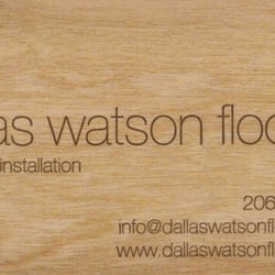 Photo Of Dallas Watson Flooring   Seattle, WA, United States. Contact Us For