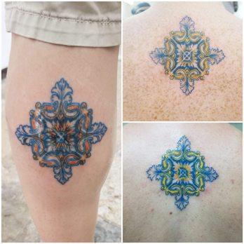 Photo Of Familia Amorim Tattoo Lisbon Portugal Traditional Portuguese Tile
