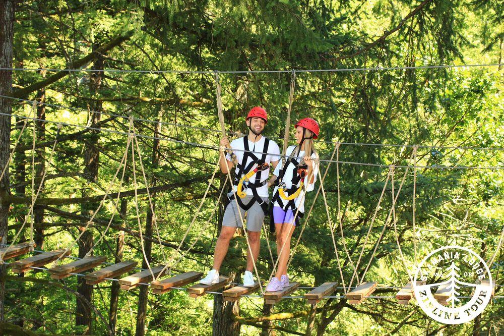 Skamania Lodge Zip Line Tour: 1131 Skamania Lodge Way, Stevenson, WA