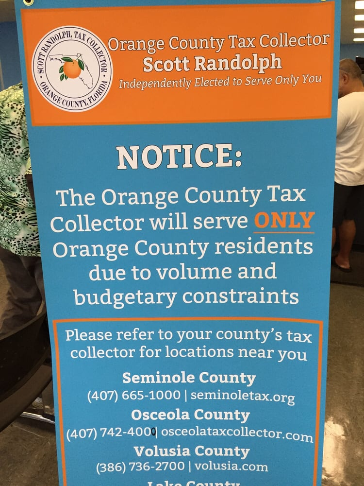 Orange County Tax Collector – Orange County Tax Collector