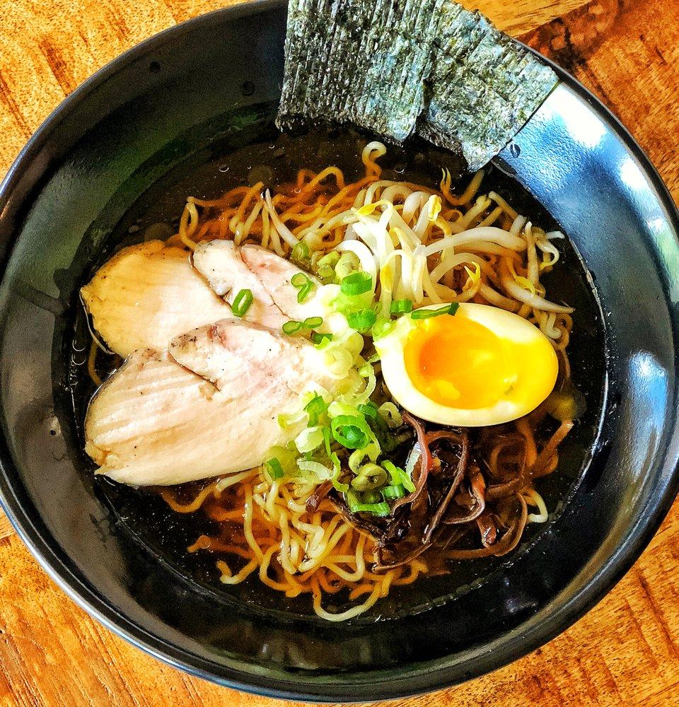 Food from Ramen Saikou