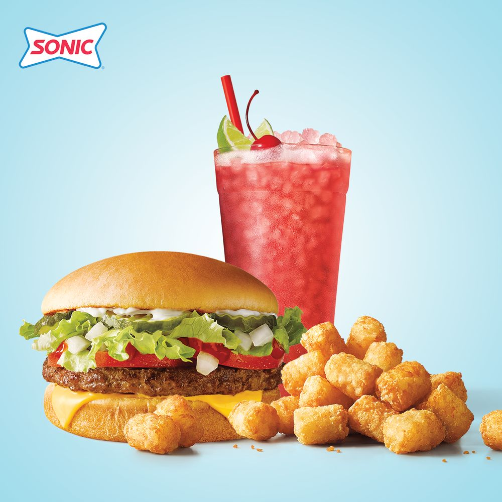 Sonic Drive-In: 112 East H Ave, CACHE, OK