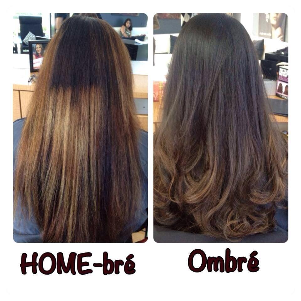Hair Correction : ... Weston, FL, Estados Unidos. Color-correction from boxed hair color