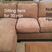 Photo Of Norwalk Furniture   Norwalk, OH, United States. Back Cushions Sink  Down