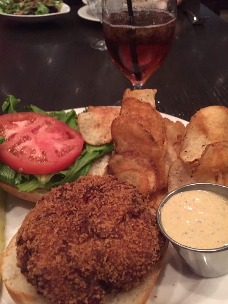 Crab cake sandwich - Yelp