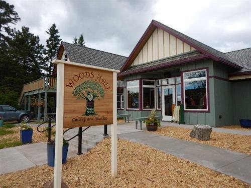 Woods Hall Gallery and Studios: 712 Main St, La Pointe, WI