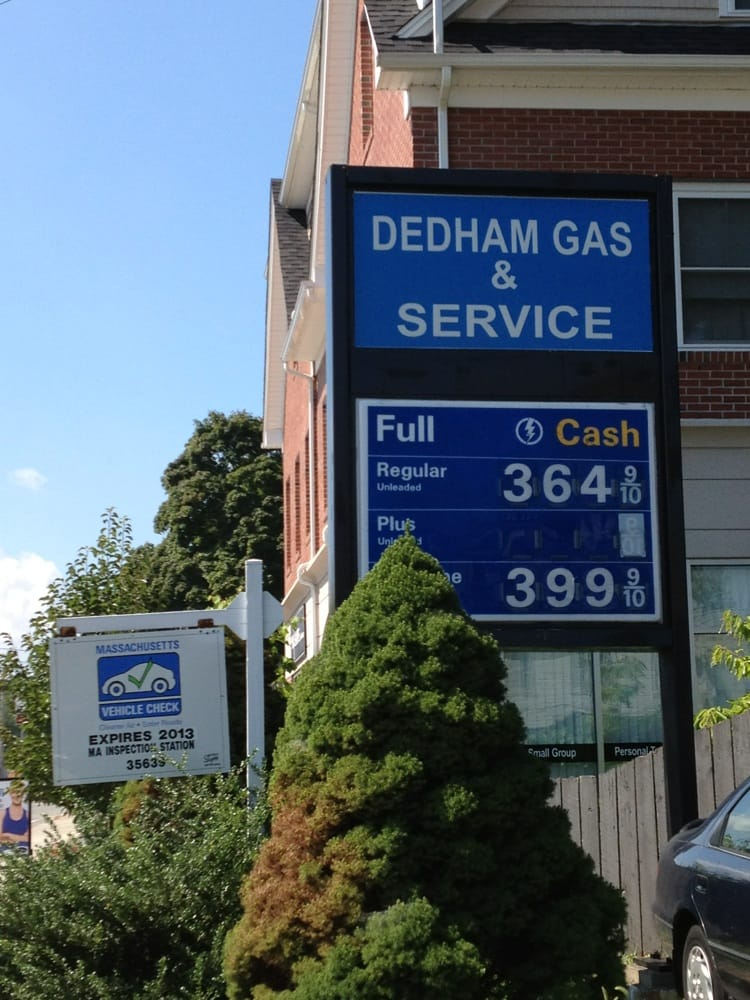 Dedham Exxon: 431 Washington St, Dedham, MA