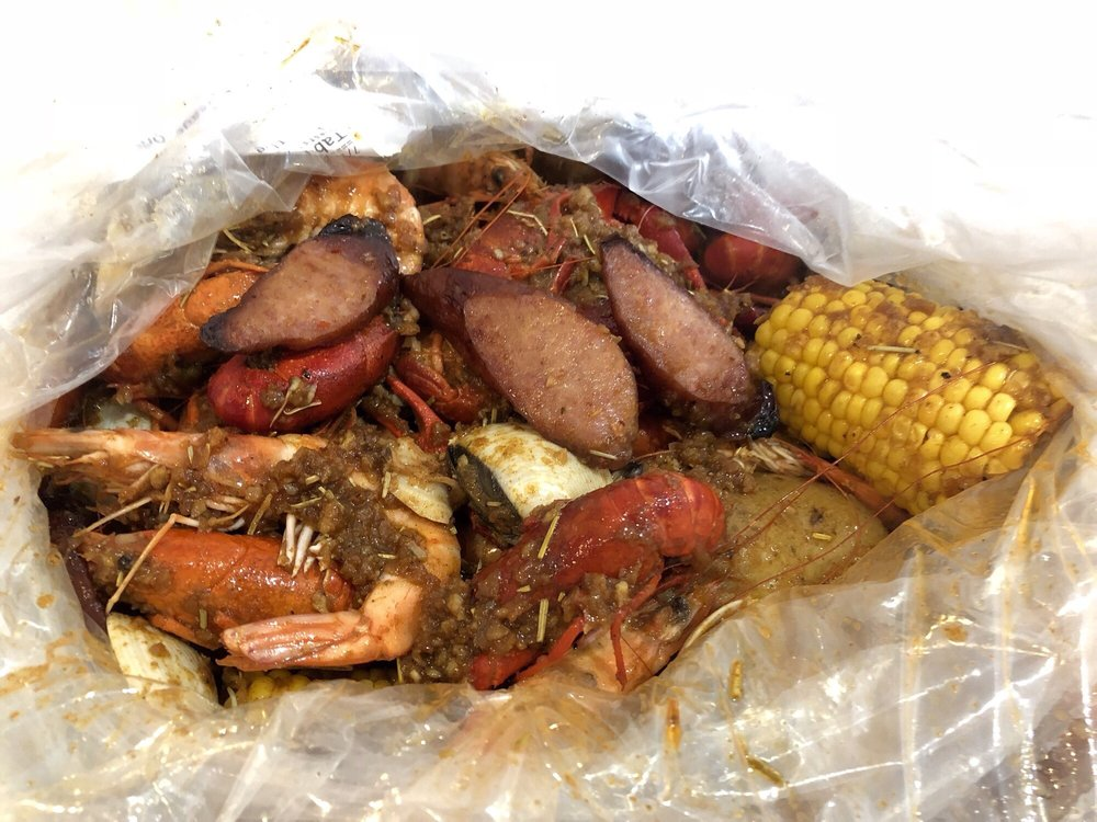 Boiling Seafood Crawfish