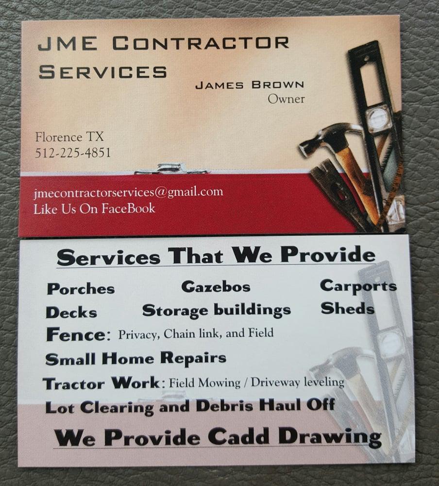 JME Contractor Services: Florence, TX