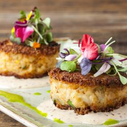 Photo Of Bluewater Grill Temecula Ca United States Crab Cake Perfection