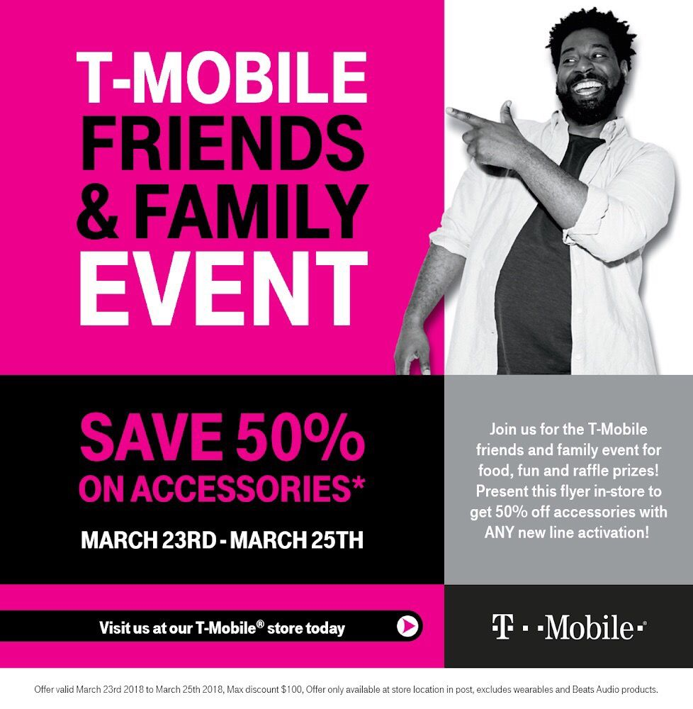 Friends and Family Event, March 23rd - March 25th  Show this post in