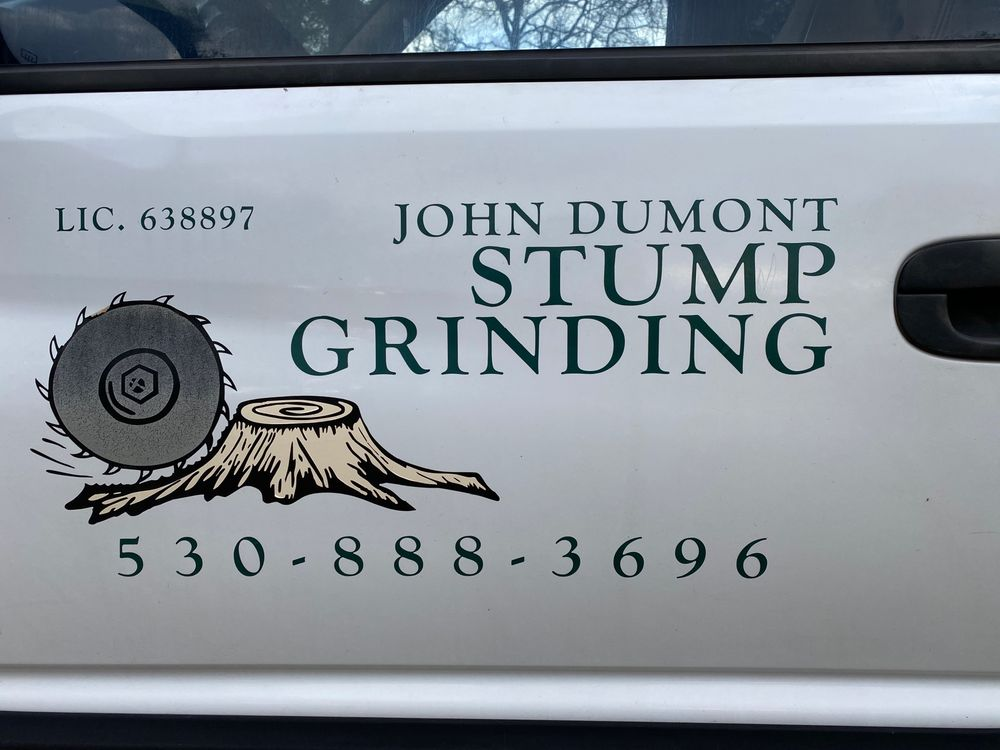 Dumont John Stumpgrinding: Auburn, CA