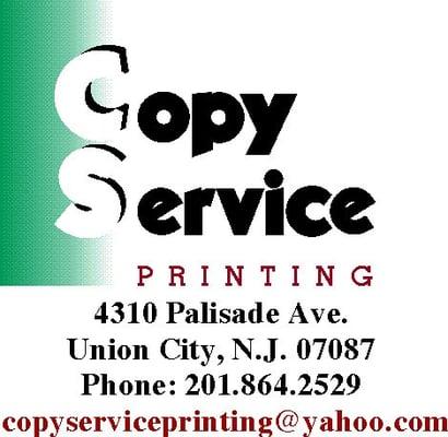 Copy service printing servi os de impress o 4310a for 19 terrace ave jersey city nj