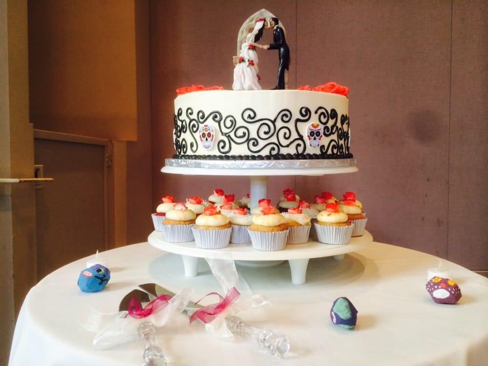 Dia De Los Muertos wedding cake - Yelp